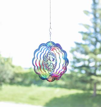 Whimsical Rainbow Flower Spinner (2-Styles)