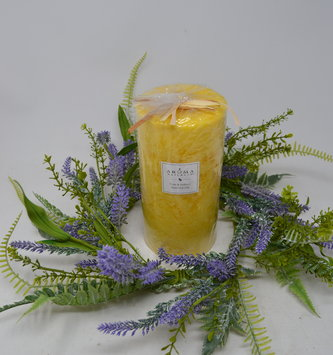 Lavender & Dusty Fern Candle Ring