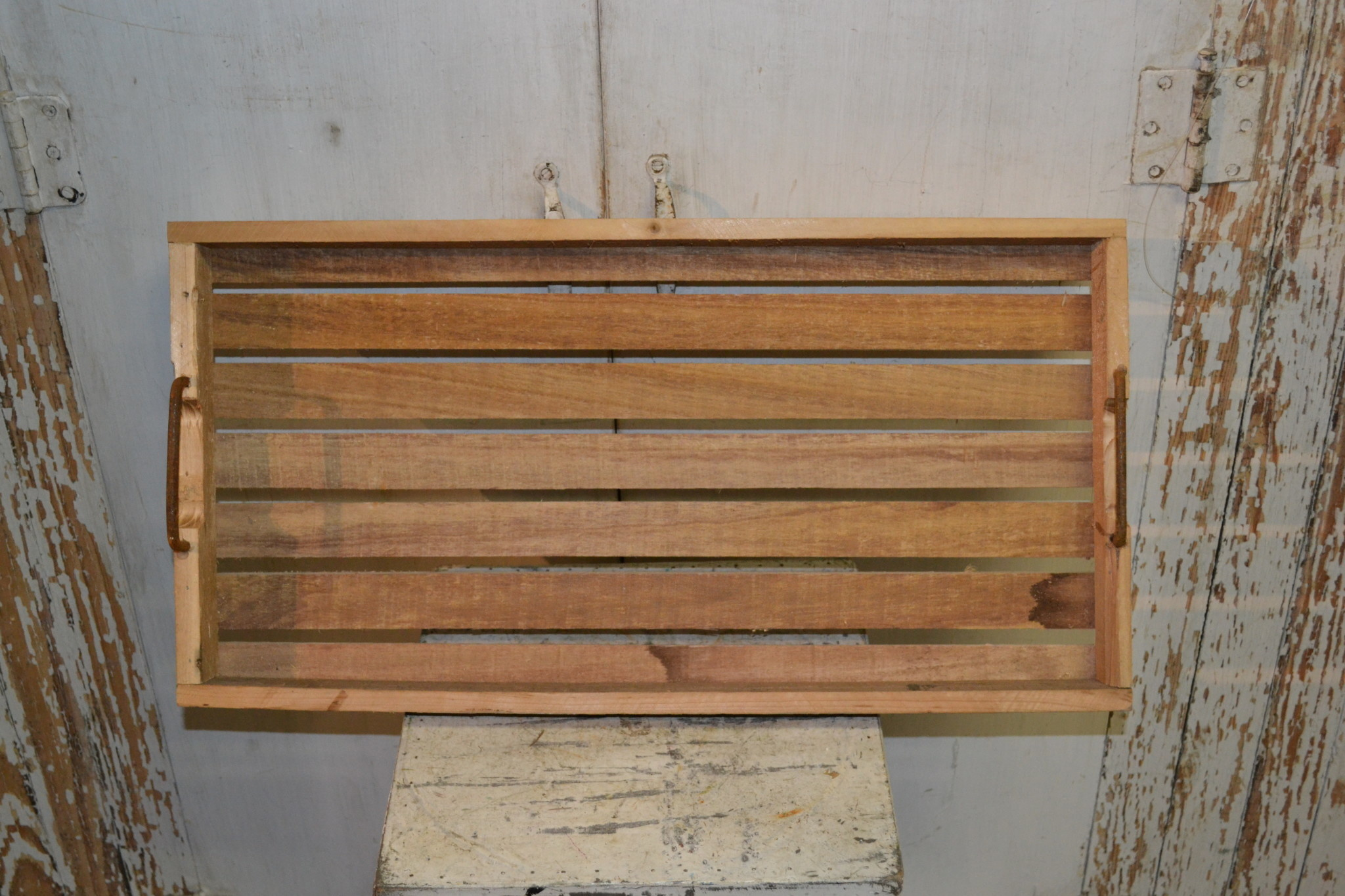 Reclaimed Wooden Rectangular Tray (3-Sizes)