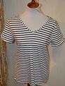 Split Back Striped Shirt (4-Sizes/3-Colors)