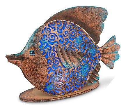 Solar Tabletop Fish (2-Colors)