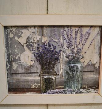 Abundance of Beauty Lavender Rustic Framed Sign