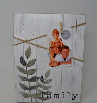 Family Photo Clip Frame