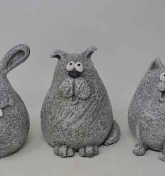 Gray Pet Planter (3-Styles)