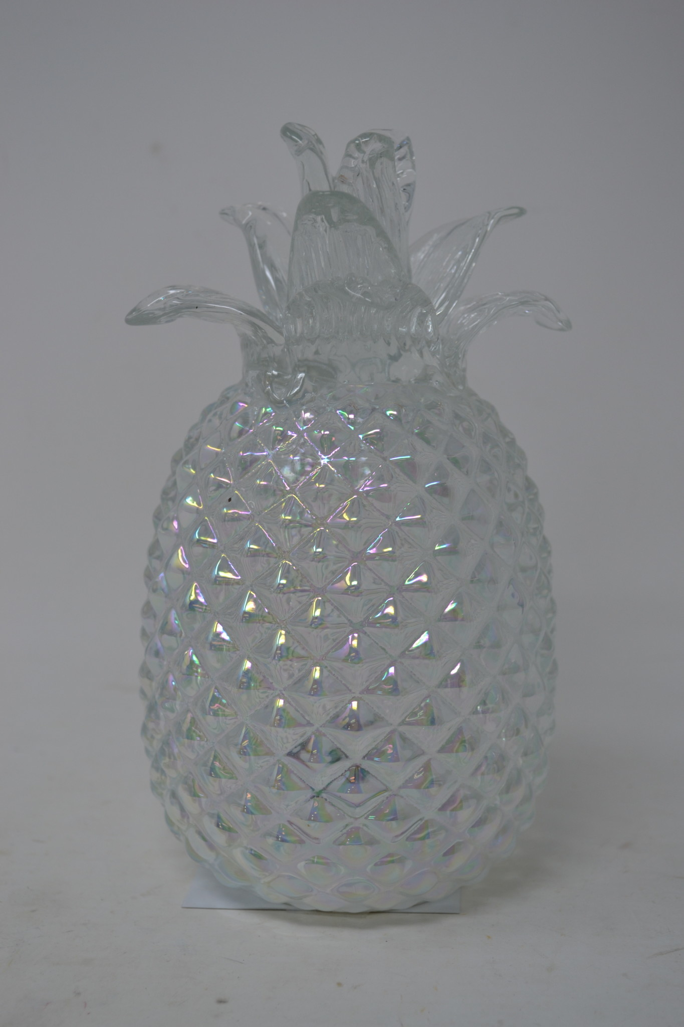 Lighted Glass Pineapple (2-Colors)