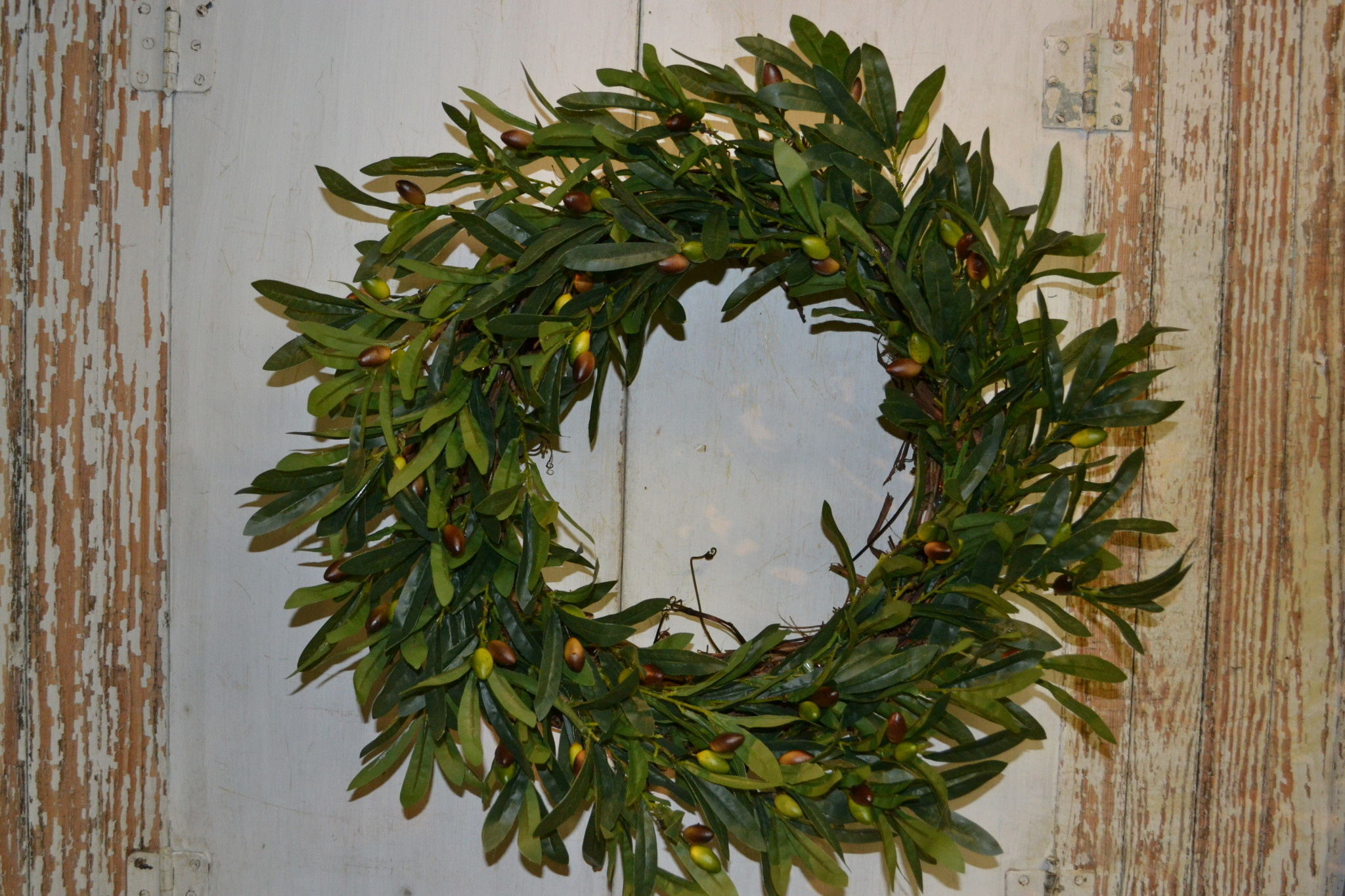Custom Olive Foilage Wreath