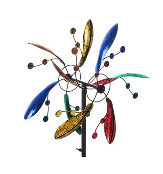 Small Metallic Multicolor Kinetic Spinner
