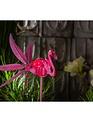 Solar Flamingo Spinner Stake