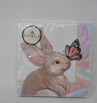 Butterfly & Bunny Cocktail Napkins