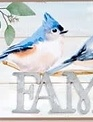 Small Bird Block Signs (6-Styles)