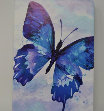 Watercolor Butterfly Journal
