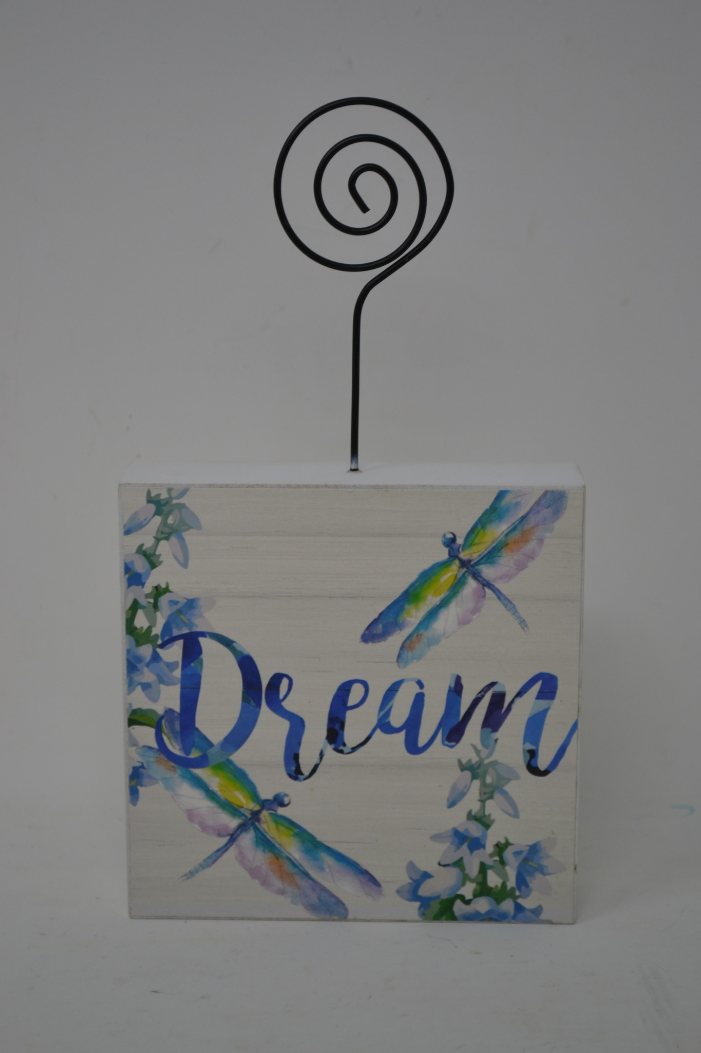 Watercolor Floral Block Holder (3-Styles)