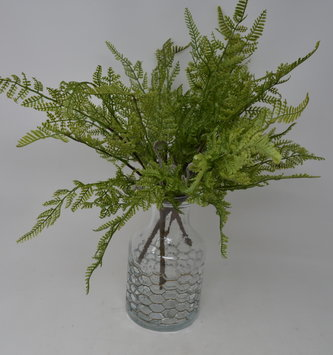"16"" Cedar Fern Pick With Fronds"