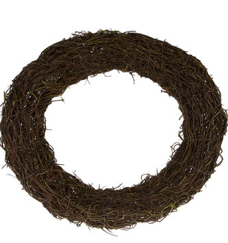 "18"" Grapevine Twig Wreath Base"