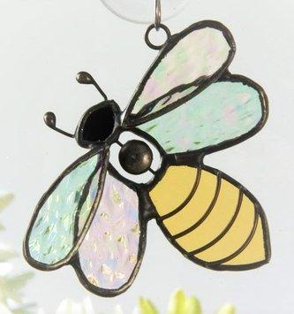 Hanging Glass Bumblebee