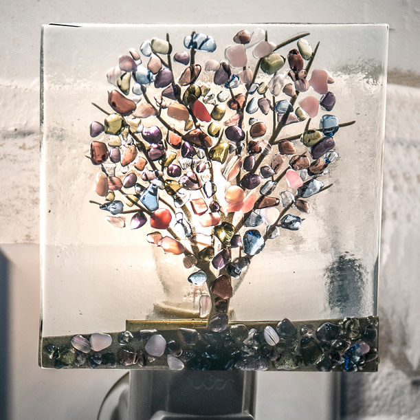 Tree Glass Night Light (2-Colors)