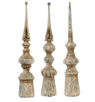 "21"" Tabletop Speckled Finial"