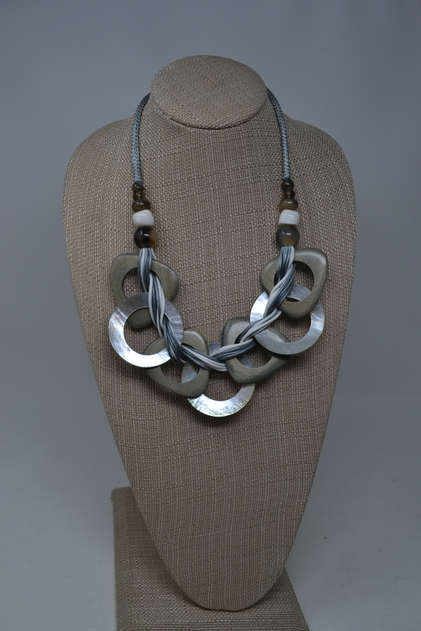 Minoan Mother of Pearl Necklace