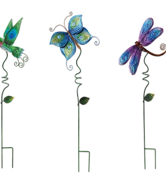 Spiral Flying Friends Stake (3-Styles)