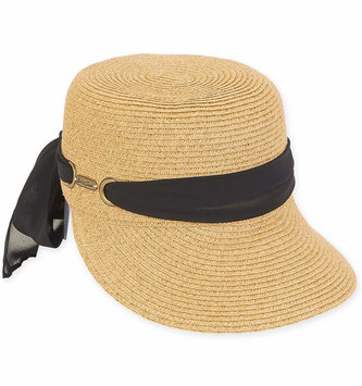 Adjustable Bow Sunsaver Brim Hat