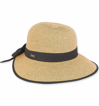 Adjustable Cotton Banded Hat With Bow (2-Colors)