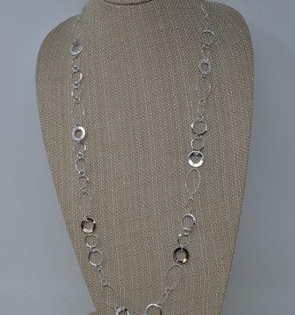 Hematite Circle Necklace