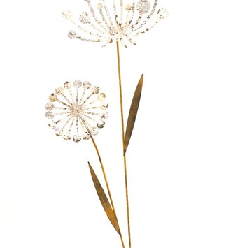 Rustic Double Dandelion Stake (2-Sizes)