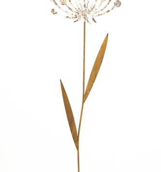 Rustic Single Dandelion Stake