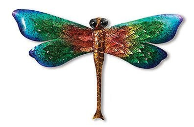 Metallic Colorful Wall Dragonfly (2-Styles)