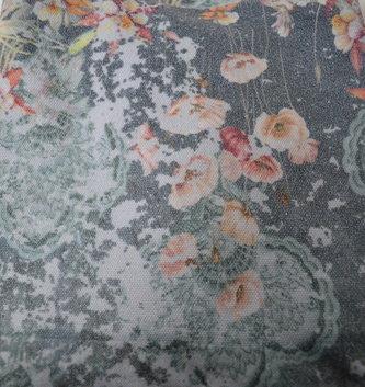 Sublimation Print High Waist Crop Leggings (2-Styles)