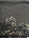 Black Floral Jacquard High Waist Leggings