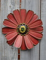 Hanging Metal Flower