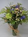 Custom Witch Hazel Grass Vase Arrangement