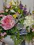 Custom Fresh Hydrangea And Peony Arrangement
