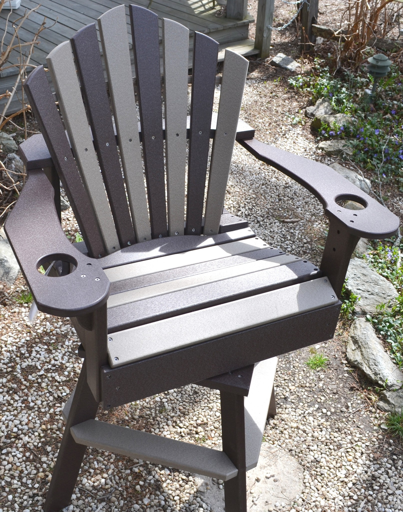 Fan Back Outdoor Chair