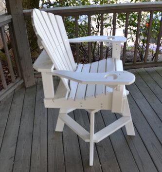 Fan Back Outdoor Chair