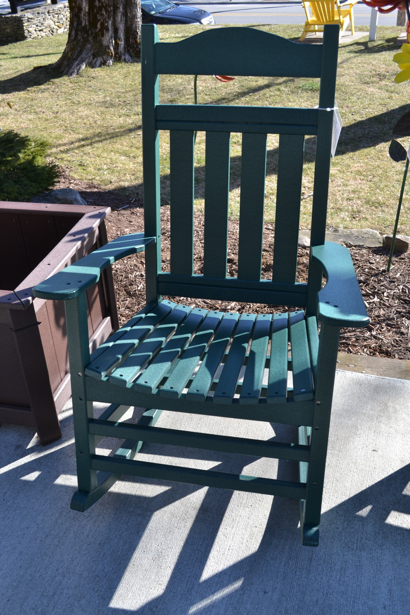 High-Back Troutman Rocking Chair
