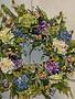 Custom Hydrangea In Bloom Wreath