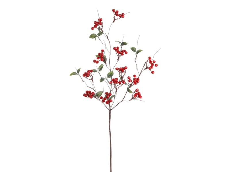 """31"""" Woodland Red Berry Branch"""