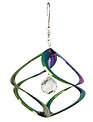 "11"" Rainbow Cosmix Spinner with Crystal"