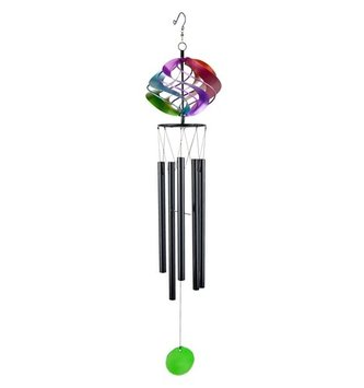 Rainbow Cosmix Spinner Wind Chime