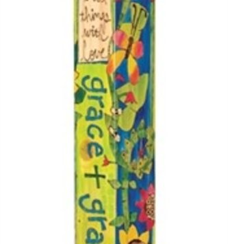 4' Grace & Gratitude Peace Pole