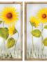 Painted Sunflower on Screen Art (2 Styles)