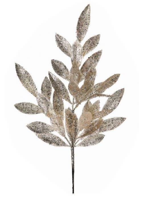 Platinum Glitz Bay Leaf Pick