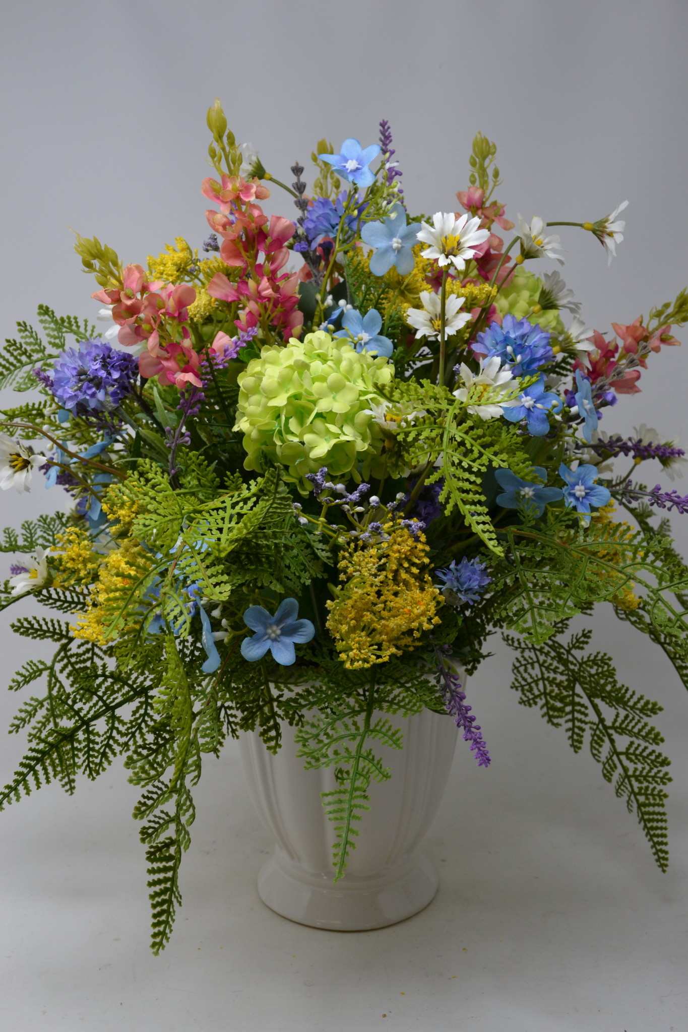 Custom Pink Lupine Meadow Arrangement
