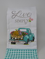 2-In-1 Live Simply Truck Kitchen Towel
