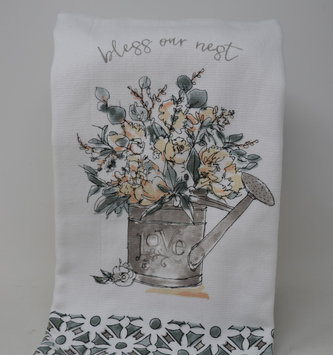 2-In-1 Bless Our Nest Kitchen Towel