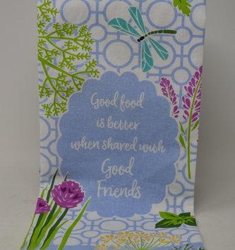 Good Friends Herb Garden Tea Towel