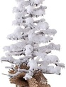 Snowy Twig Tree In Burlap (2-Sizes)