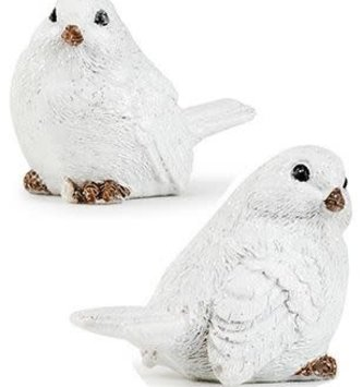 Set of 2 Mini Winter Birds